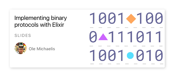 Screenshot showing dnstudy card for my binary parsing talk